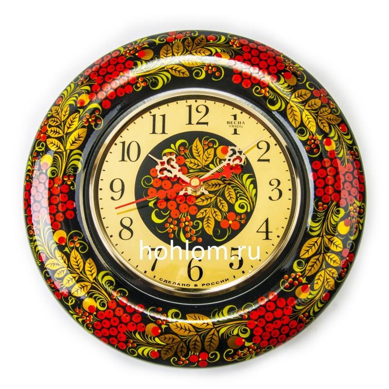 """Часы  """"Весна"""" (рябинка)"""