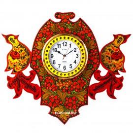 Часы настенные с птичками хо..