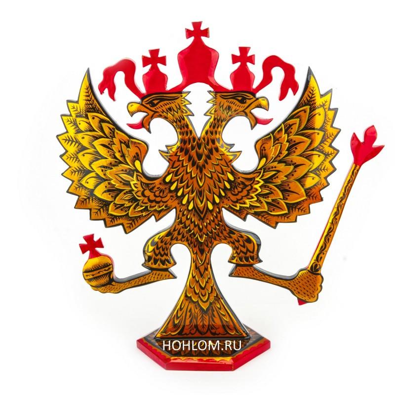 Герб РФ настольный
