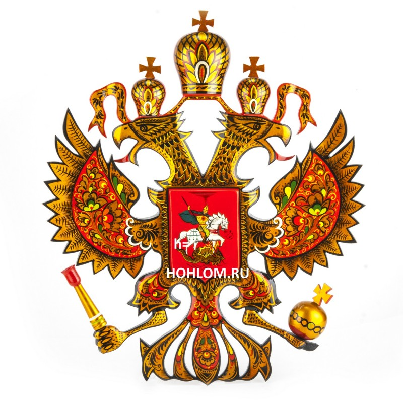 Герб России настенный