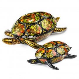 Набор шкатулок две черепахи..