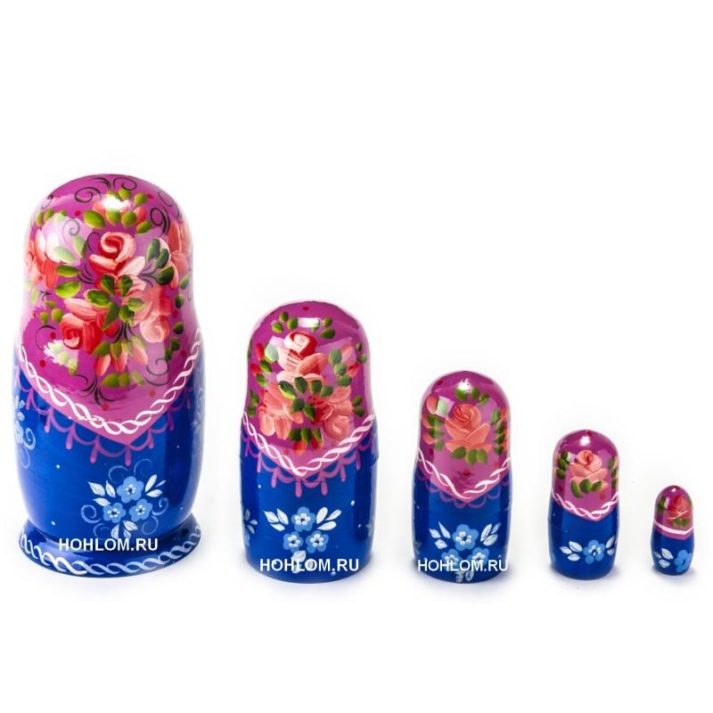 Русская матрешка 5 кукол Аня