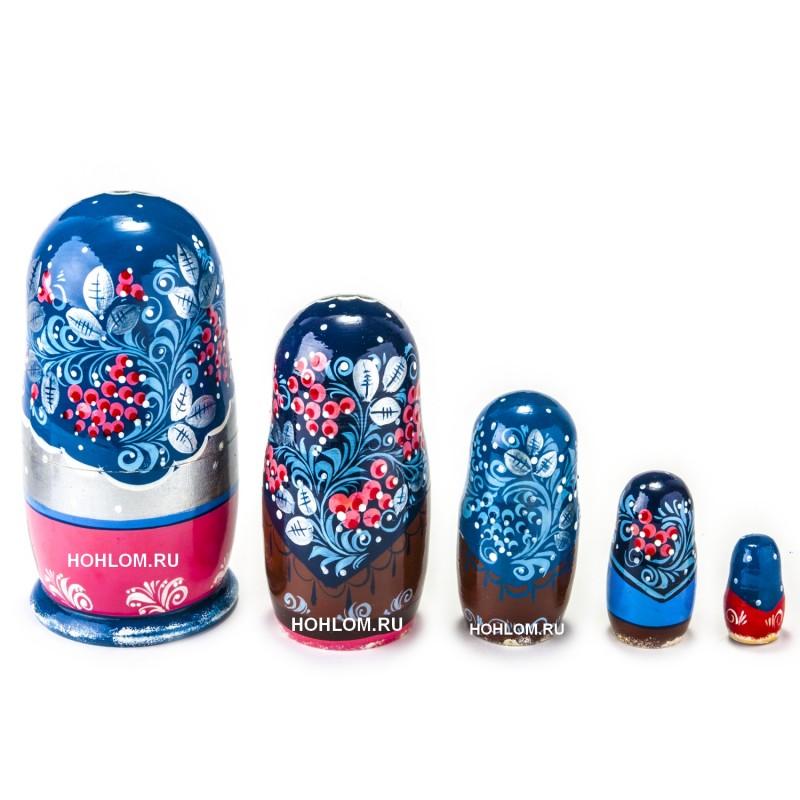 Русская матрешка 5 кукол  Лиза