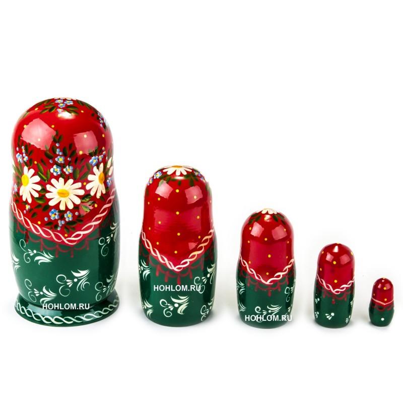 Русская матрешка 5 кукол Оля