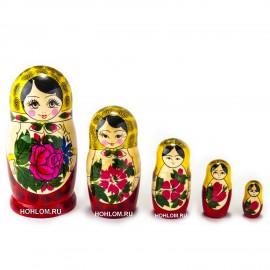 Матрешка традиционная 5 куко..