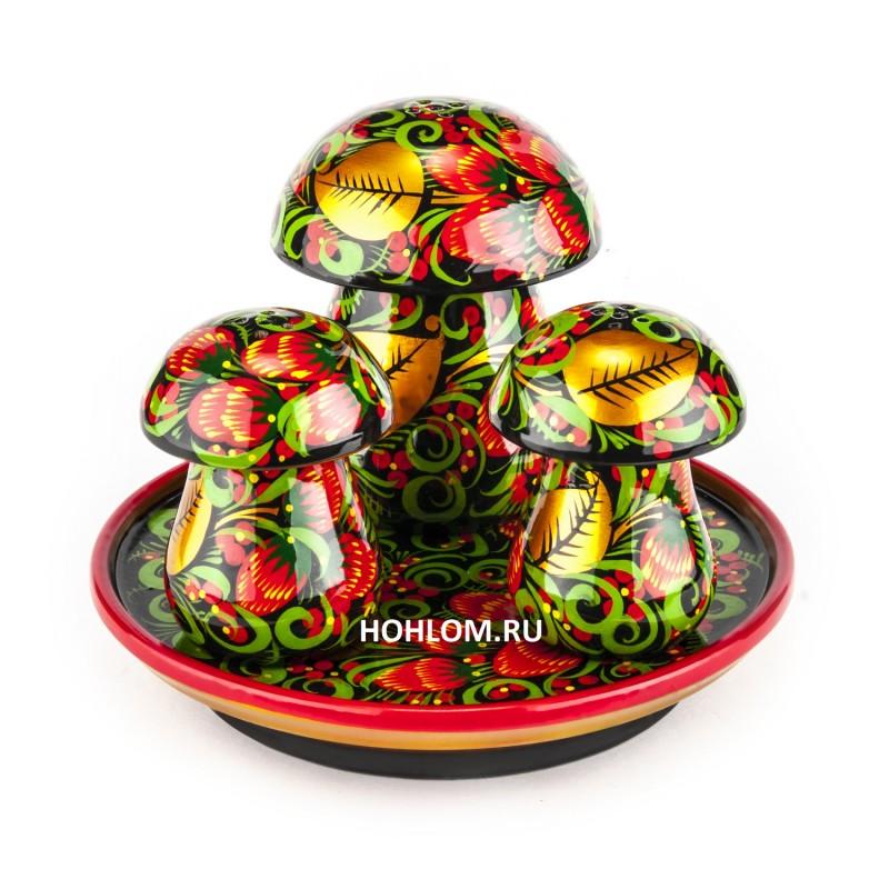 Набор для специй грибы